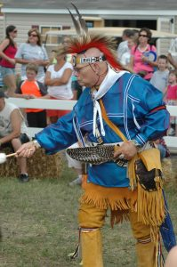 Photo of Terry Sammons of the Lenape Indian Tribe of Delaware