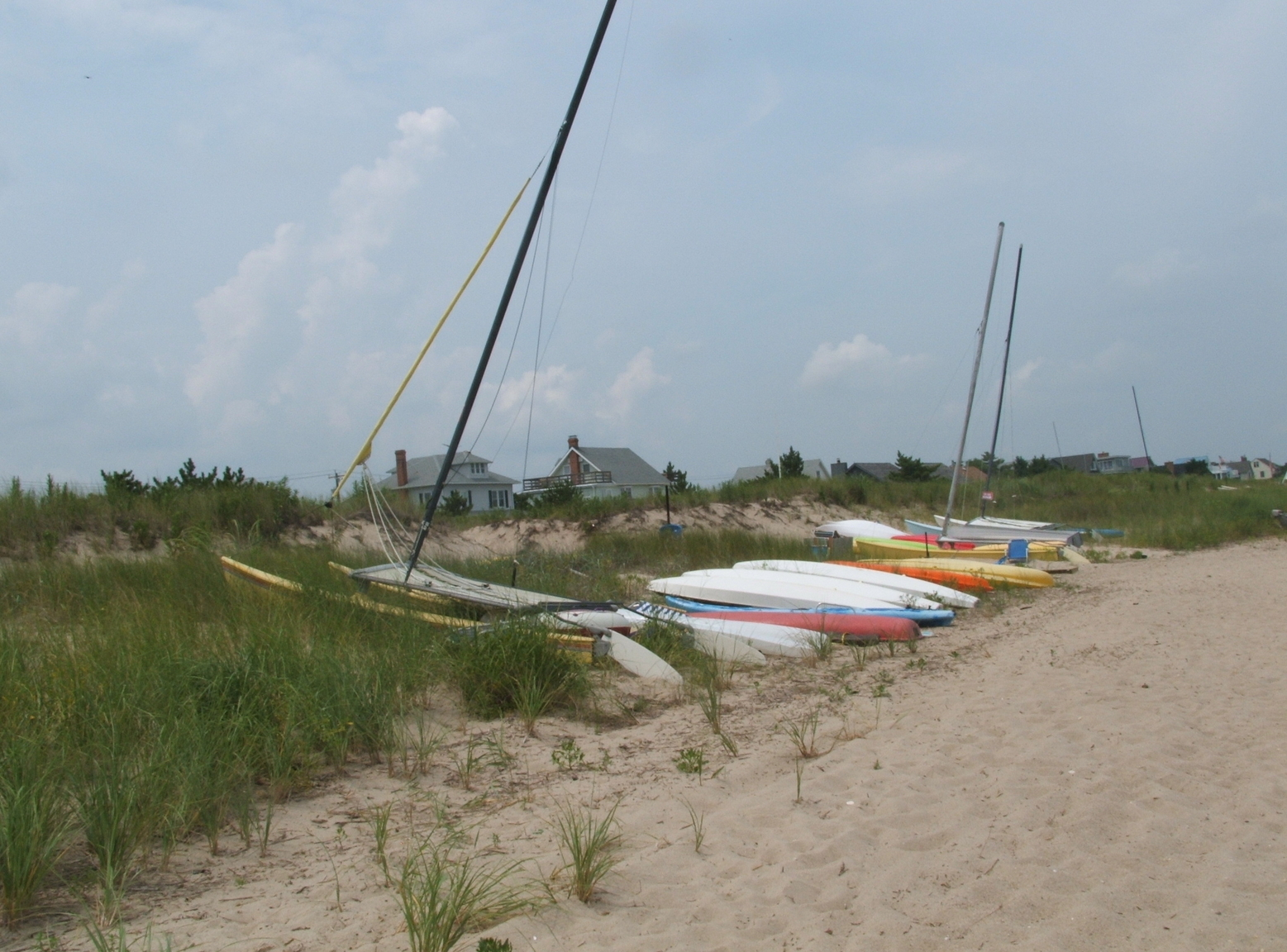 Boats on a Dune