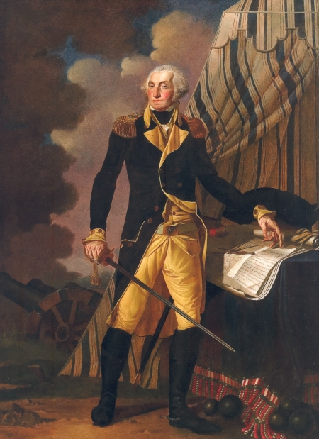 Portrait of George Washington by Denis A. Volozan