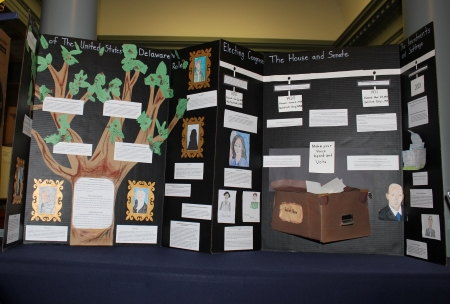 Photo of Christ the Teacher 2019 display