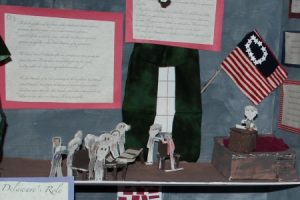 Detail From Gallaher Elementary School 2019 display