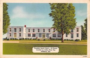 Postcard of the Rosedale Beach Hotel