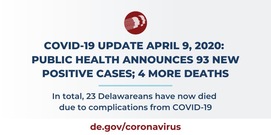 April 9, 2020 update