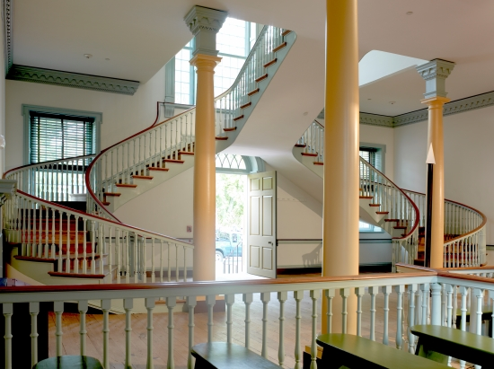 Photo of The Old State House staircase