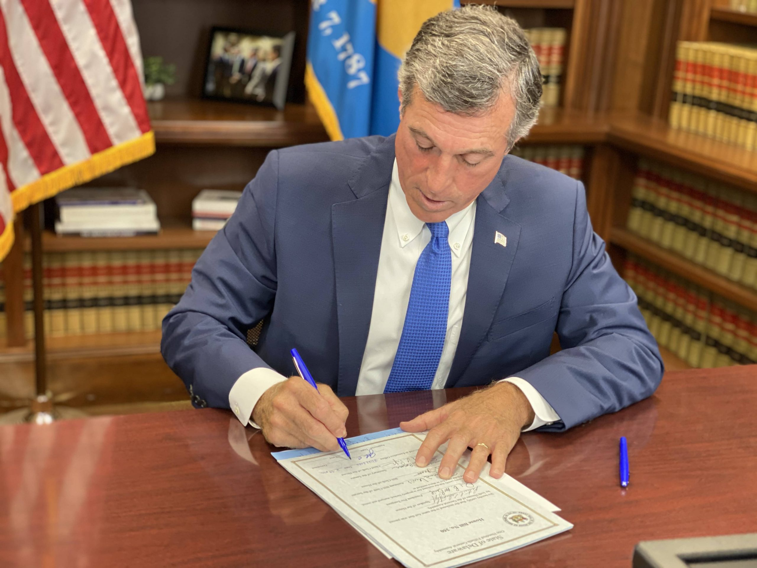 Governor Carney signs HB 350 into law