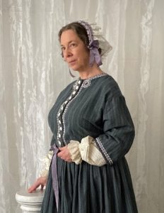 Photo of Kim Hanley as Elizabeth Cady Stanton