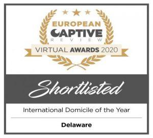 European Captive Awards Shortlisted International Domicile of the Year: Delaware
