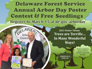 2021 Arbor Day Poster Contest