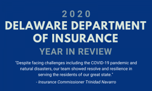 2020 Delaware Department of Insurance Year in Review