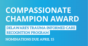 Compassionate Champion Award Nominations Open thru April 15