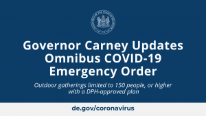 Governor Carney Updates Omnibus COVID-19 Emergency Order