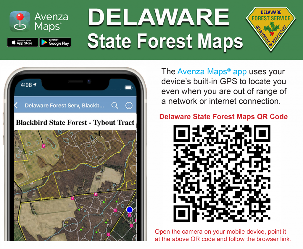 Delaware State Forest Avenza Maps