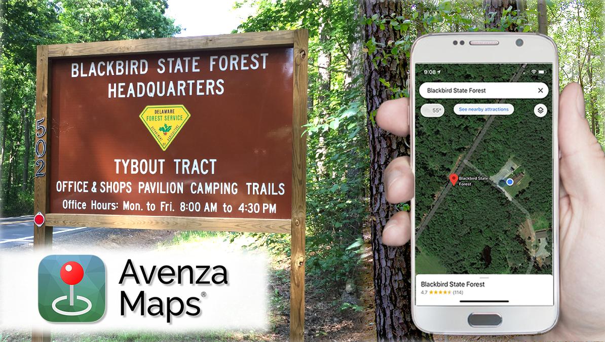 Avenza_Blackbird State Forest