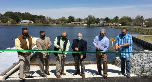 Wagamons Pond Boat Ramp Ribbon Cutting