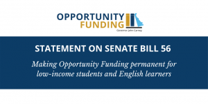 Statement on Senate Bill 56