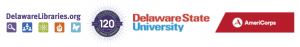 Delaware Libraries VISTA Logos