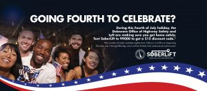 soberlift july 4th activation poster