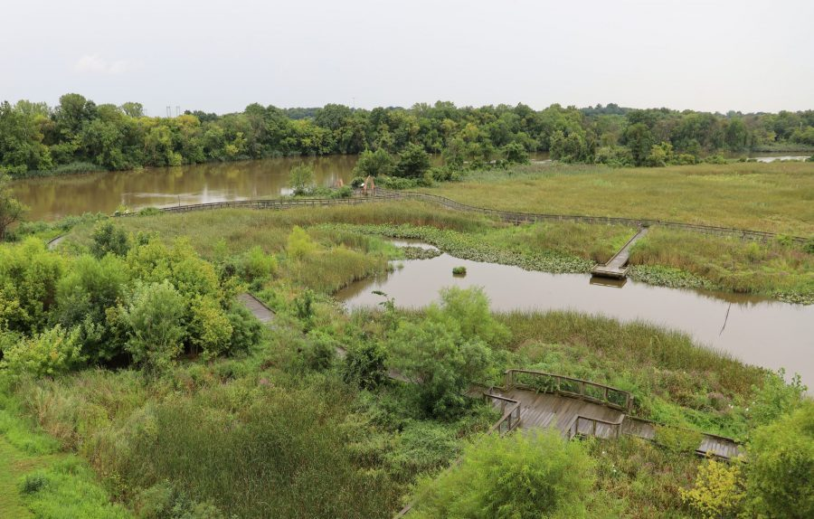 The Russell W. Peterson Urban Wildlife Refuge