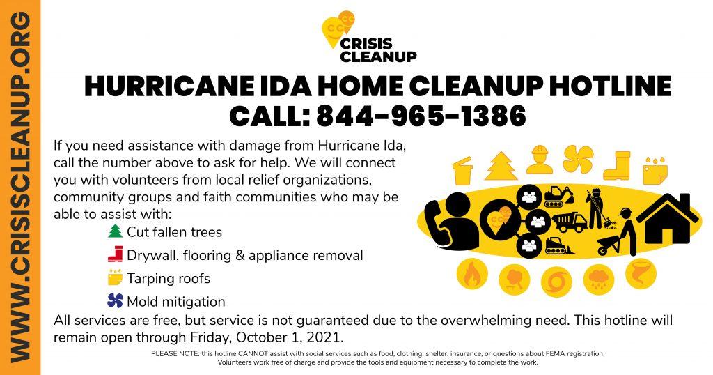 Hurricane Ida Home Cleanup - 844-965-1386