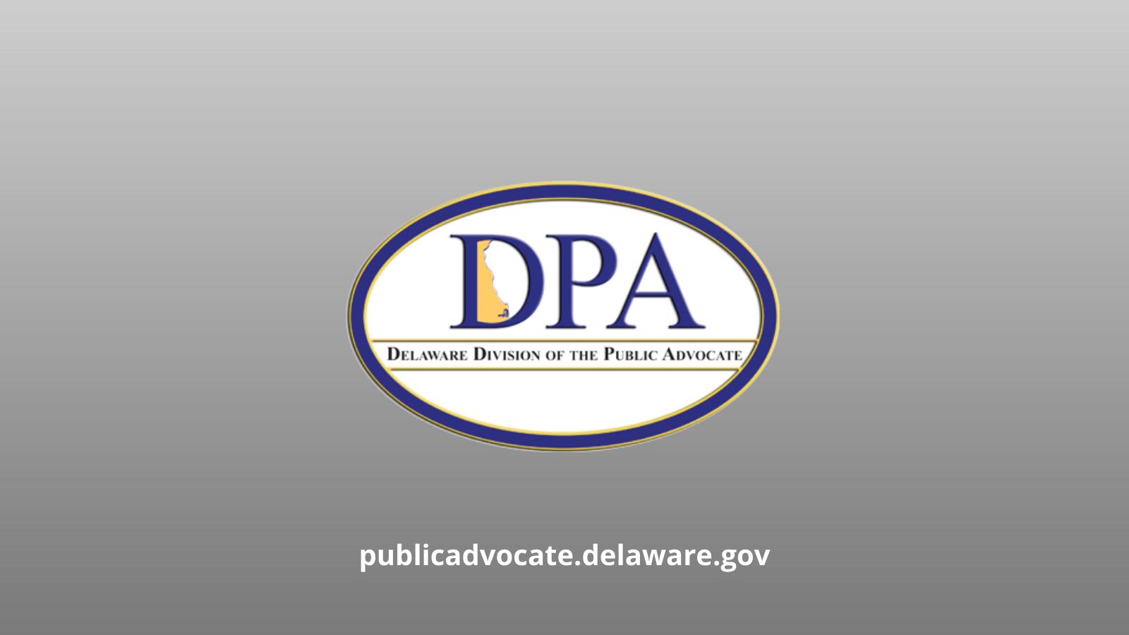 Delaware Division of the Public Advocate Logo