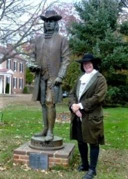 Photo of Jim Whisman as William Penn